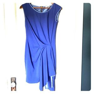 Royal blue asymmetric dress - XS